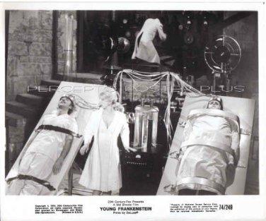 YOUNG FRANKENSTEIN ~ Orig '74 MEL BROOKS Movie Photo ~ GENE WILDER / PETER BOYLE