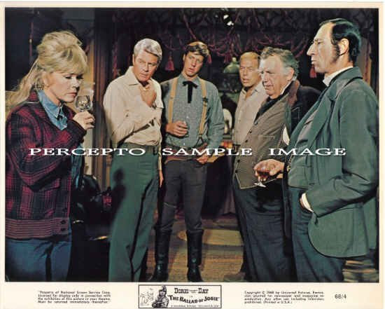 The BALLAD OF JOSIE ~Original '68 Movie Photo ~ DORIS DAY / PETER GRAVES / ANDY DEVINE