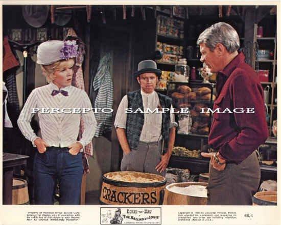 The BALLAD OF JOSIE ~ Original '68 Western Movie Photo ~ DORIS DAY / PETER GRAVES