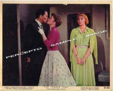 TENDER TRAP ~ Orig '55 Color Movie Photo ~ DEBBIE REYNOLDS / FRANK SINATRA / CAROLYN JONES
