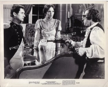 LOVE AND DEATH ~ Orig '75 Comedy Movie Photo ~ WOODY ALLEN / DIANE KEATON / NAPOLEON