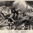 YOG MONSTER FROM SPACE ~ Original '71 Monster Movie Photo ~ ISHIRO HONDA / MONSTERS ATTACK!