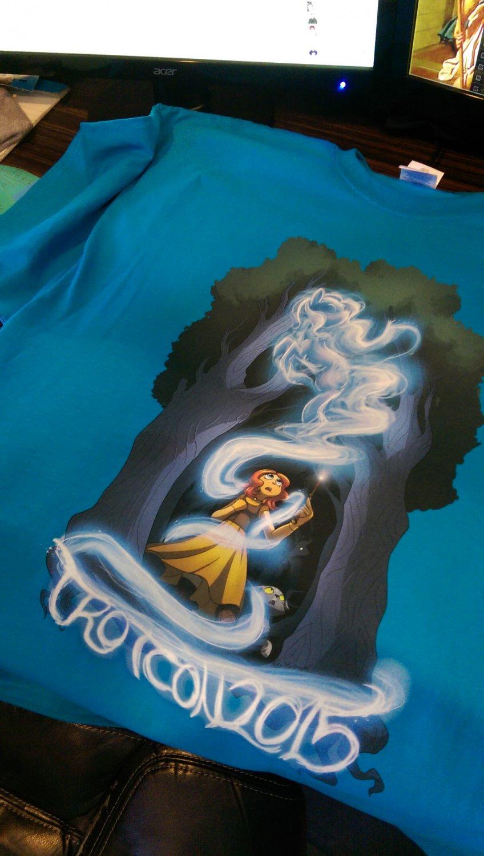 TrotCon 2015 Shirt - Large