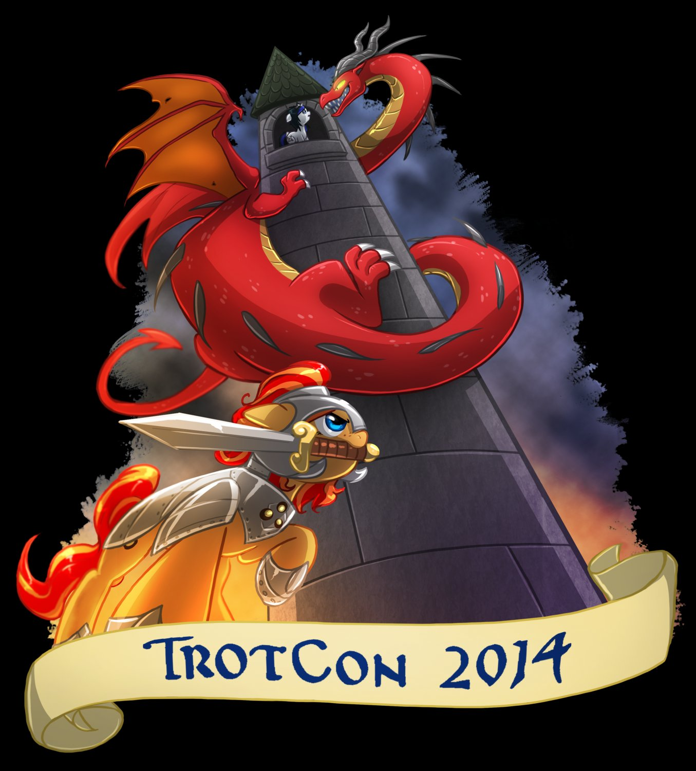 TrotCon 2014 Shirt - X-Large