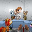 "Rebel Ponies Print - 8.5x11"""
