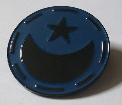 Lunar Republic Pin