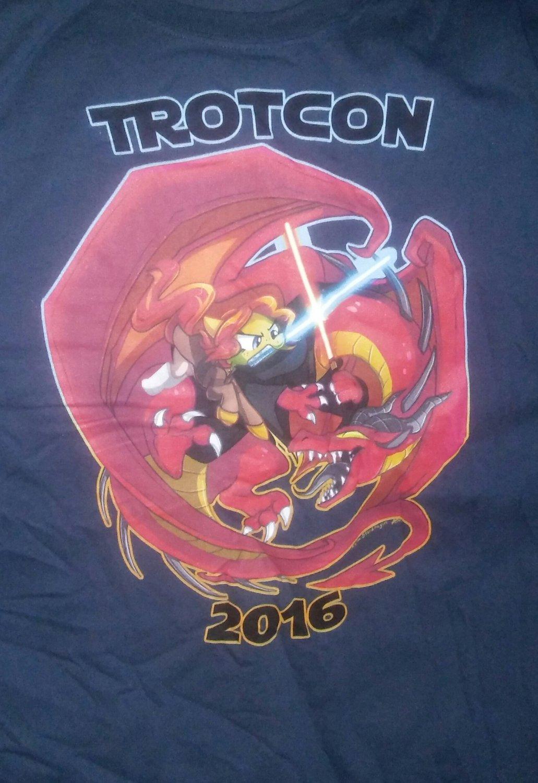 Trotcon 2016  Shirt - Large