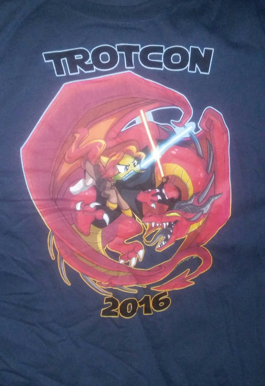 Trotcon 2016  Shirt - 2XL