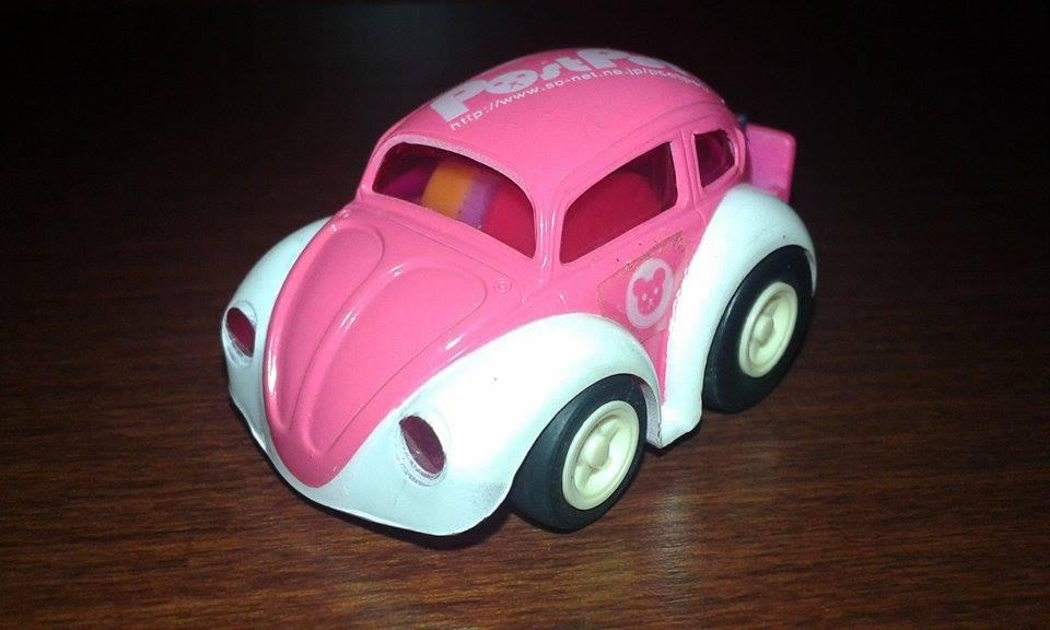 Mini Pink Car