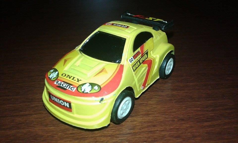 Mini Yellow Car