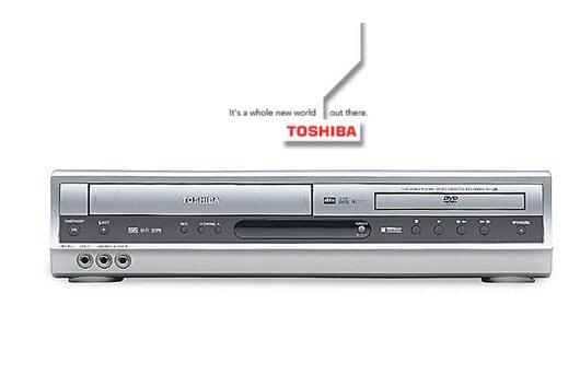 Toshiba SDV391 Progressive Scan DVD&VCR Combo