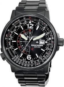 Citizen Men's Eco-Drive Nighthawk Pilot's Watch