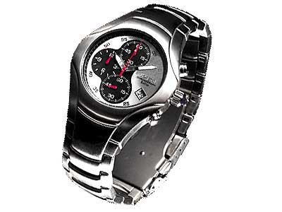 Euro Italy Sport Chrono Watch Black Dial