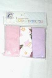 Baby Boop 3pk Washcloths in Poly Bag & Header