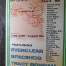 Summerland 1996 Everclear Spacehog Tracey Bonham 7 Year Bitch Concert Promo Tour Poster
