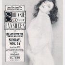 Siouxsie & The Banshees 1991 Miami Concert Handbill