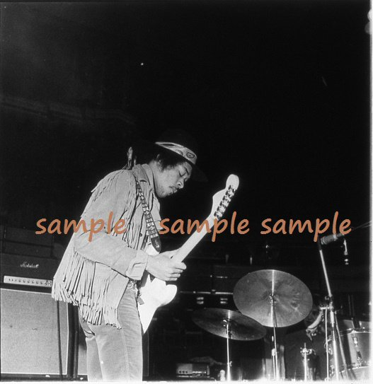 Jimi Hendrix 1969 London Soundcheck Concert Photo #1 FREE SHIPPING!