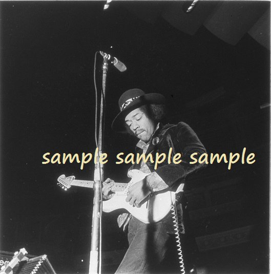 Jimi Hendrix 1969 London Soundcheck Concert Photo #2 FREE SHIPPINNG!