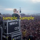 The Offspring Dexter Holland 1999 Woostock Concert Photo 8x10