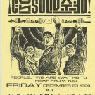 Consolidated 1988 SF Kennel Club Industrial Concert Handbill