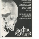 Executive Slacks 1990 Helter Skelter CA Club Concert Handbill Poster