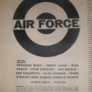 Ginger Baker's Airforce 1970 MSG NYC Newspaper Concert AD
