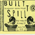 BUILT TO SPILL 1999 Irving Plaza NYC Concert Handbill