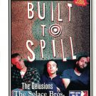 Built To Spill 2003 Irving Plaza NYC Concert Handbill Card