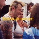 Brian Setzer 1999 Woodstock Concert Offstage Photo 8x10 FREE SHIPPING!