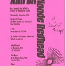 STEREOLAB Blonde Redhead 1996 NYC Concert Handbill