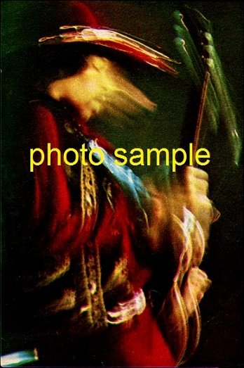 Jimi Hendrix 1968 Ohio Concert Photo 5x7 #2