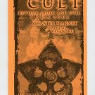 The Cult 2001 Chicago Concert Calendar Oasis