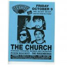 The Church 1998 Tramps NYC Concert Handbill