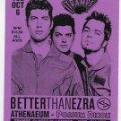 Better Than Ezra 1998 Tramps NYC Concert Handbill Card