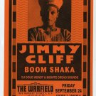 JIMMY CLIFF 1993 Warfield SF Concert Handbill