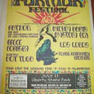 FURTHER FESTIVAL 1996 Liberty State Park NJ Full Page Newspaper Concert AD FREE SHIPPING!