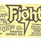 FIGHT VOIVOD 1994 Miami Beach Concert Handbill