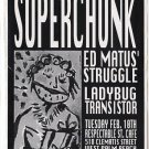 SUPERCHUNK 1998 West Palm Beach Concert Handbill