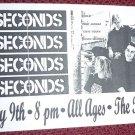 7 Seconds 1993 Florida Punk Concert Flyer Handbill