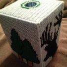 Deer Head Tissue Box Cover