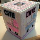 Stroller Tissue Box Cover