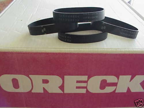 4 BELTS for ORECK upright XL, XL2, XL21 vacuum Fast
