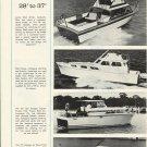 1965 Lyman 28'- Viking 37- Trojan 36 - Revel Craft 32 New Boats Ad