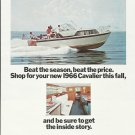1965 Chris- Craft Boats Color Ad- The 1966 33' Cavalier Futura