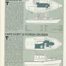 1985 Ericson 28 & Cape Dory 28 New Boats Reviews & Specs
