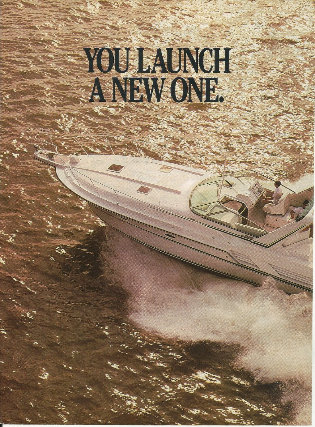 1989 Trojan Yacht 3 Page Color Ad- The 10 Meter Express