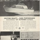 1959 Richardson Boat Co. Ad- The 24' Superba Express