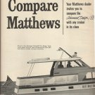 1966 Matthews Yacht 2 Pg Ad- The Advanced Design/ 53