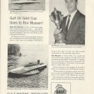 1955 Gulf Marine Products Ad-Great Photo Hydroplane Cro-Mate