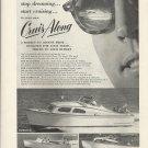 1955 Cruis Along Boats Ad- Buccaneer- Vacationer 22- Express 26